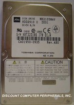 "Toshiba MK2105MAV HDD2910 2.1GB 2.5"" IDE Drive Tested Free USA Ship - $48.95"