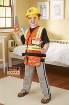 Melissa amp Doug Construction Worker Role Play Costume Dress-Up Set (6 pcs) - $37.35