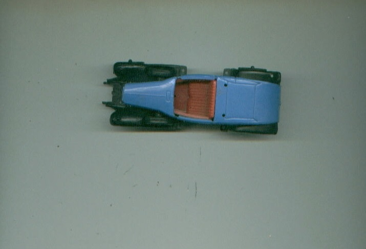 vintage CLE Key plastic toy roadster MADE IN FRANCE