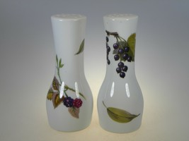 Royal Worcester Evesham Salt & Pepper Shaker Set - $35.59