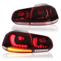 MICROPOWER Sequential LED Tail Lights for [Volkswagen Golf 6 MK6 GTI 2010 2011 2