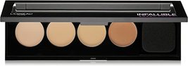 L'Oreal Cosmetics Infallible Total Cover Concealing and Contour Kit - $14.99