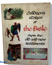 Children Stories Bible From Old New Testament Illustrations Deluxe Editi... - $9.89