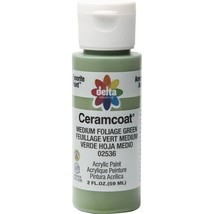 Plaid Delta Creative Ceramcoat Acrylic Paint In Assorted Colors (2 Oz),Med Folia - $6.01