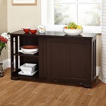 Modern Kitchen Storage Cabinet Sideboard Buffet Server Dining Sliding Or... - $123.74