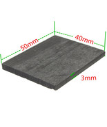 Lowest Price 99.99% Pure Graphite Electrode Rectangle Plate Sheet 50*40*3mm - $4.98