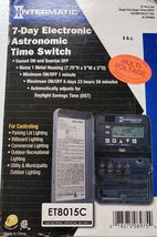 Intermatic ET8015C 7day programmable timer - $120.00