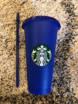 Starbucks Color Changing Pride 2020 COLD Reusable Cup Venti COBALT DEEP ... - $7.99