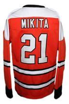 Custom Name # St Catharines Teepees Retro Hockey Jersey Mikita Orange Any Size image 4