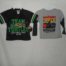 Boys Size 3T Lot of New Short Sleeve Shirts Teenage Mutant Ninja Turtles... - $16.82