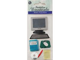 Sandylion Essentials Computer Stickers #PSCBHMLE142