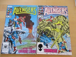 Avengers 256,257   VF/NM  Condition Marvel  Comics 1985 ( PAIR) - $36.00