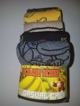 Donkey Kong mens casual crew socks fits shoe sizes 8 to 12  new in package - $21.95