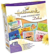 Hallmark Card Studio 2005 Deluxe [CD-ROM] Windows 98 / Windows 2000 / Wi... - $8.90