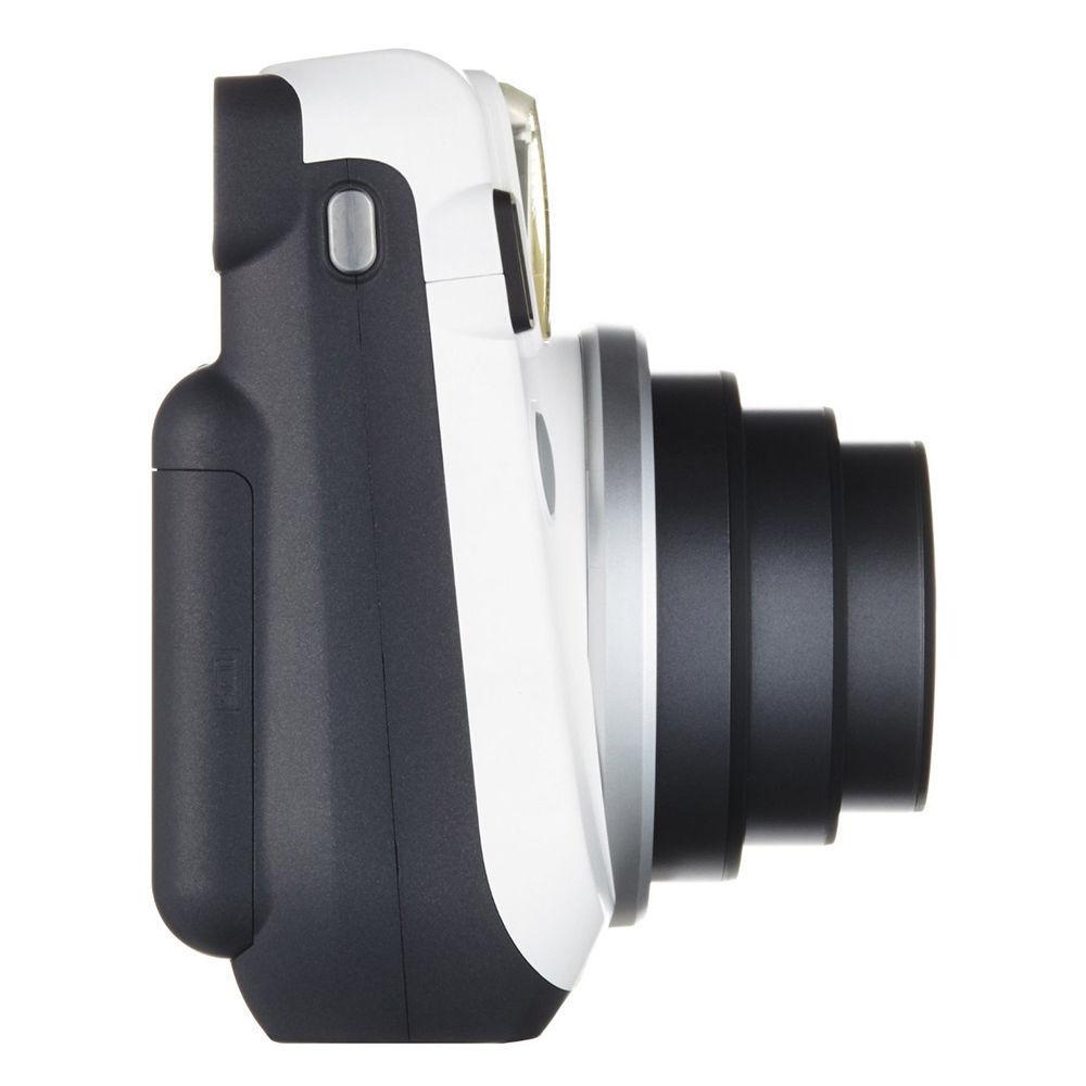 Moon White Colour FujiFilm Instax Mini 70 Instant Photos Films Polaroid Camera