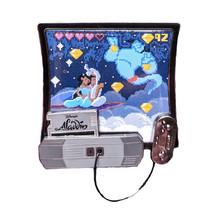 Aladdin Disney Lapel Pin: Kingdom Consoles - $200.00