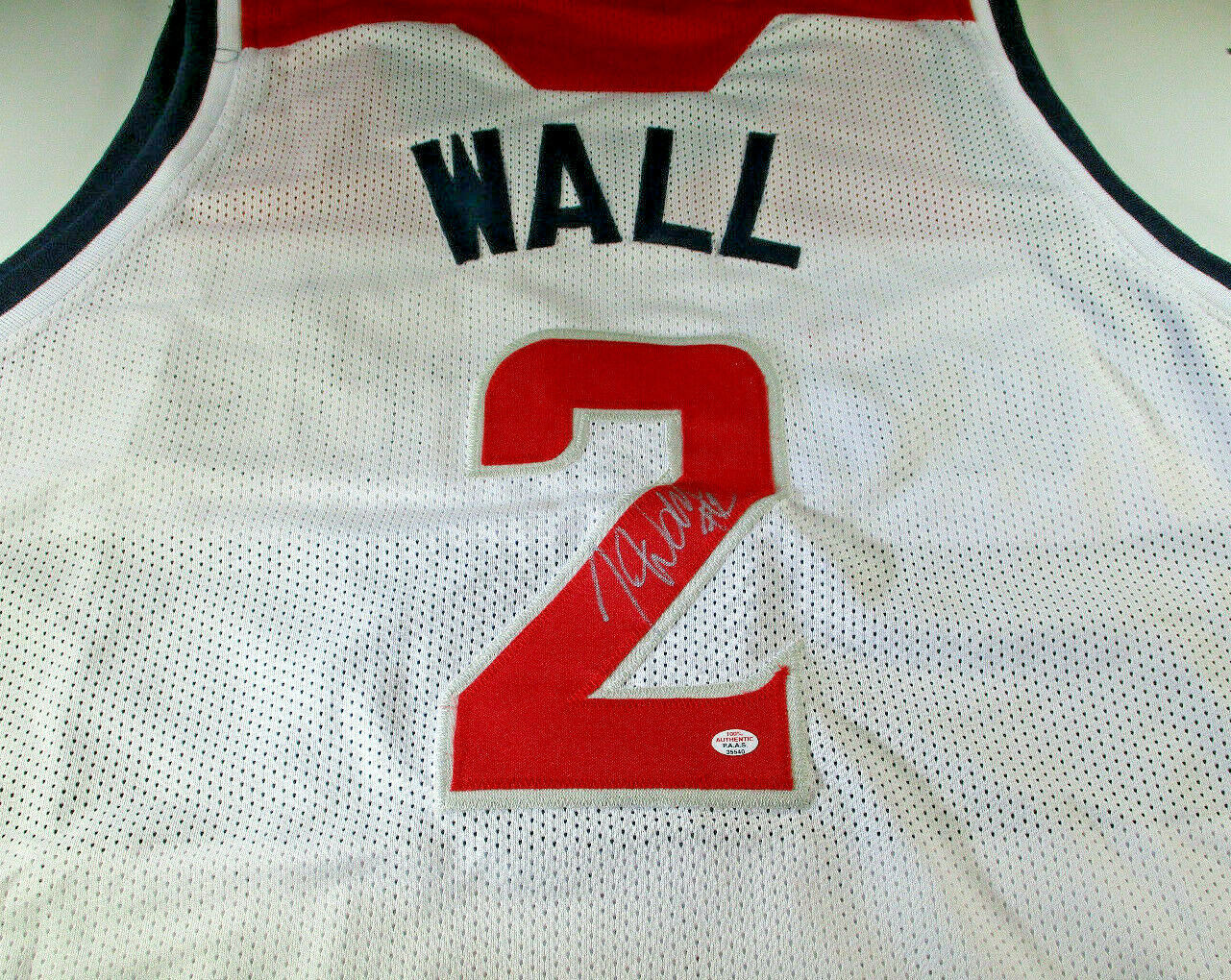 JOHN WALL / 5X NBA ALL-STAR / AUTOGRAPHED WASHINGTON WIZARDS CUSTOM JERSEY / COA