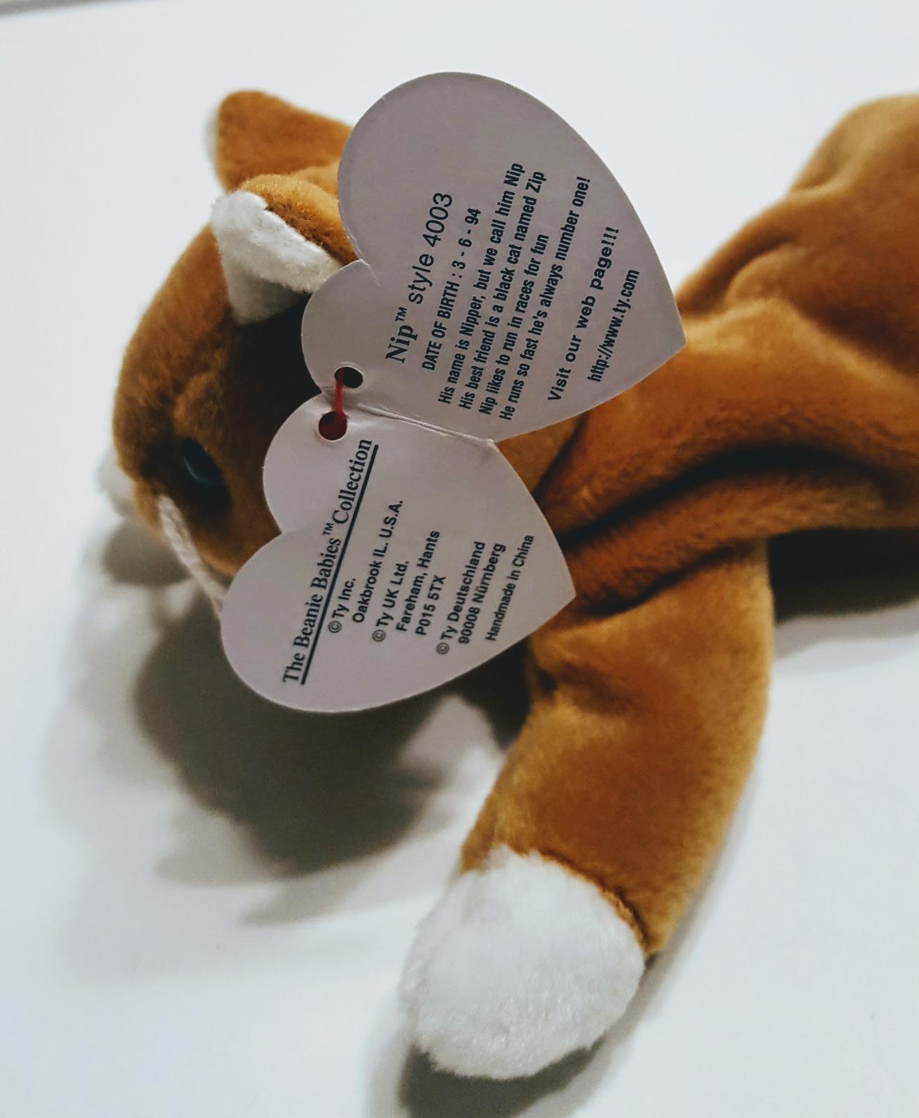 bbaff17a751 Ty Beanie Baby Toys Velvet 4064 Chip 4121 Nip 4003 Scottie 4102 Retired Lot  of 4
