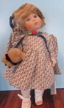"Marie Osmond  doll Jennifer COA  11"" tall   Item C7593 MIRACLE CHILDREN - $39.60"