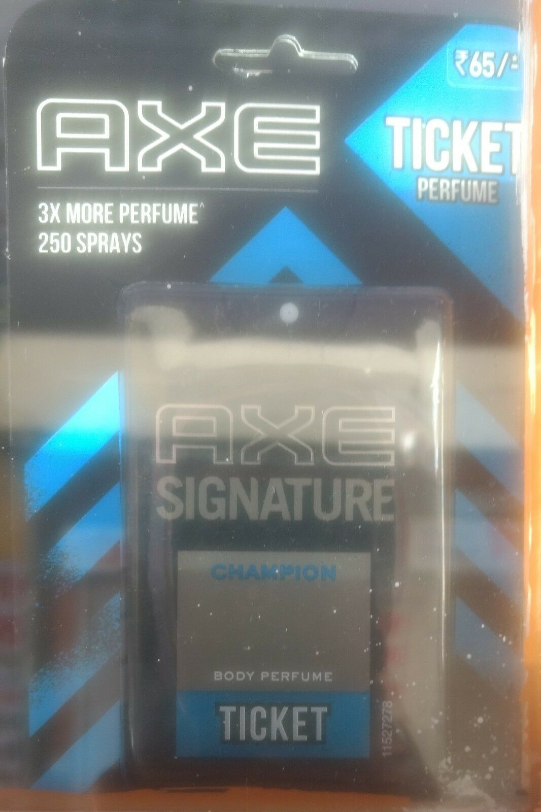 Axe signature champion ticket body perfume Pocket Perfume,17 Ml 250 spray fs - $5.43