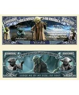 Pack of 50 - Star Wars Yoda Lucasfilm Collectible Novelty Dollar Bill - $14.80
