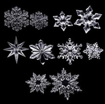 Acrylic Clear Snowflake Christmas Tree/Wall Ceiling Patry Decor Hanging ... - $5.03+