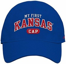 Adidas NCAA Kansas Jayhawks Infants Hat Ball Cap, Blue - $5.77