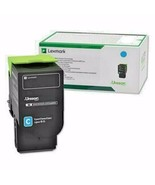 NEW Lexmark Cyan Return Program Toner Cartridge  78C10C0 For CS/CX 420,5... - $85.40