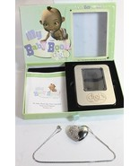 My Baby Book Digi Time Capsule silver Heart Necklace 4GB USB Drive H28 - $39.77