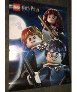 LEGO HARRY POTTER MINIFIGURES DOUBLE SIDED POSTER - $9.99