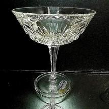 1 (One) GORHAM CHERRYWOOD CLEAR Cut Lead Crystal Champagne Tall Sherbet ... - $21.69