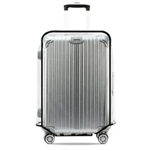 Universal Waterproof Transparent Protective Luggage Cover Suitcase Case ... - $14.20