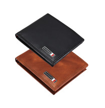 Tommy Hilfiger Men's Leather Credit Card ID RFID Traveler Wallet 31TL240007