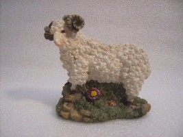 Ram Decor Figurine Statue Hand Painted Collectible #Fig218 - $12.99
