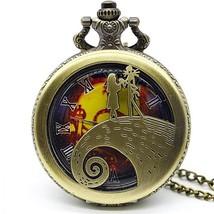 Fashion Silver Bronze Black Gold Polish Smooth Quartz Pocket Watch Jewel... - $11.49