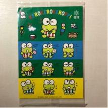 Sanrio Vintage Kero Kero Keroppi Sticker Showa Retro New Rare Cute - $33.82