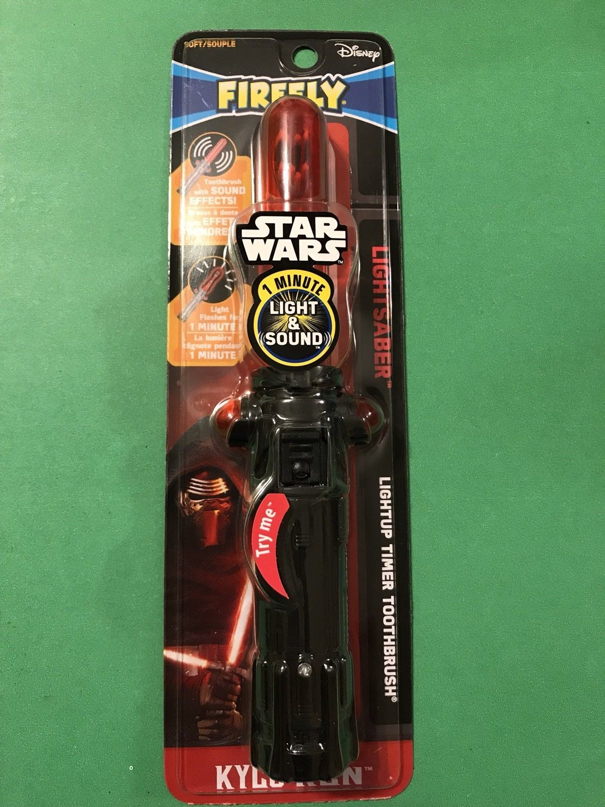 firefly toothbrush star wars darth vader 1 minute timer 3 pack