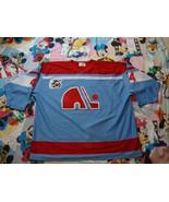 NHL Quebec Nordiques John Kordic Throwback Jersey 3XL - $74.25