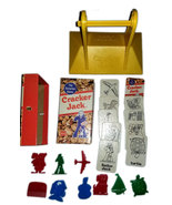 Cracker Jack Vintage 1976 Board Game - (22) Replacement Pieces *Milton B... - $4.88