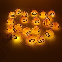 Halloween Decoration Pumpkin Lamp LED String Lights Holiday Party Decor ... - $27.68
