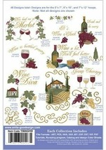Wine Country Anita Goodesign Embroidery Design cd CD ONLY - $16.82