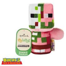 Minecraft Zombie Pigman Hallmark itty bitty bittys  Creeper  Alex   Vide... - $16.81