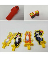 Fraidy Cats Game 1994 Launcher Dice Pawns Replacement pieces parts - $7.00