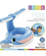 Intex Inflatable Jolly Whale Shaded Baby Float Toddlers Ages 1-2 56591EP... - $16.95