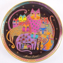 Laurel Burch Fabulous Felines Porcelain Collector Plate, Franklin Mint, ... - £10.02 GBP
