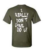 I Really Don't Care Do You? Melania Trump PRINTED ON BACK Men's Tee Shir... - $8.86+