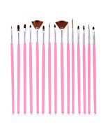 15 PCS Variety Function Toe Nail Art Pen Painting Nail Brush Nail Art Tool - $6.90