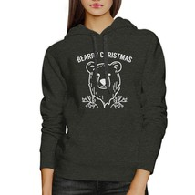 Bearry Christmas Bear Dark Grey Hoodie - $25.99+