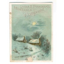 1875 Lydia Estes Pinkham Vegetable Compound Medicine Company Recipe Trad... - $11.00