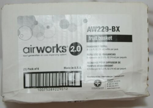 Airworks 2 AW229BX Next Generation Air Care Dispensing System Fragrance Refill